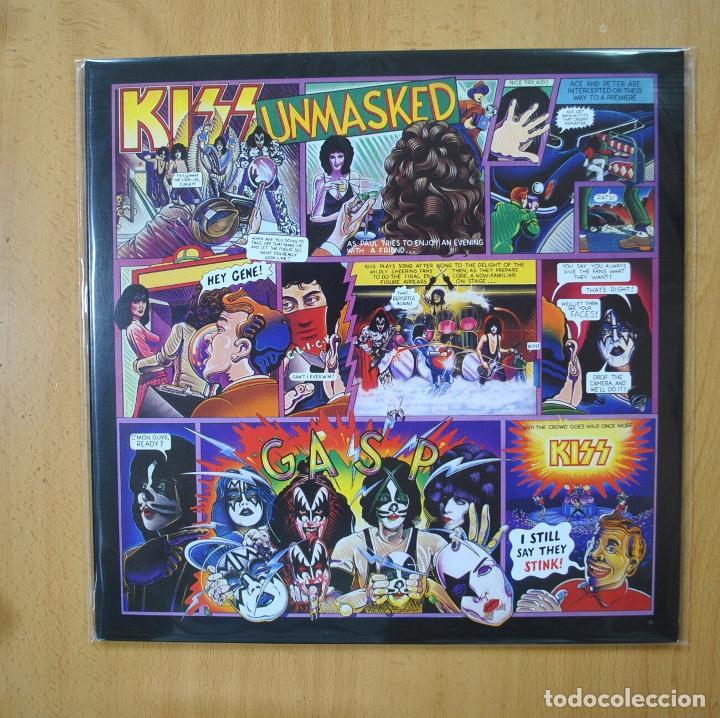 KISS - UNMASKED - CONTIENE POSTER - LP (Música - Discos - LP Vinilo - Heavy - Metal)