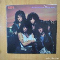 Discos de vinilo: KISS - CREATURES OF THE NIGHT - LP. Lote 269053023