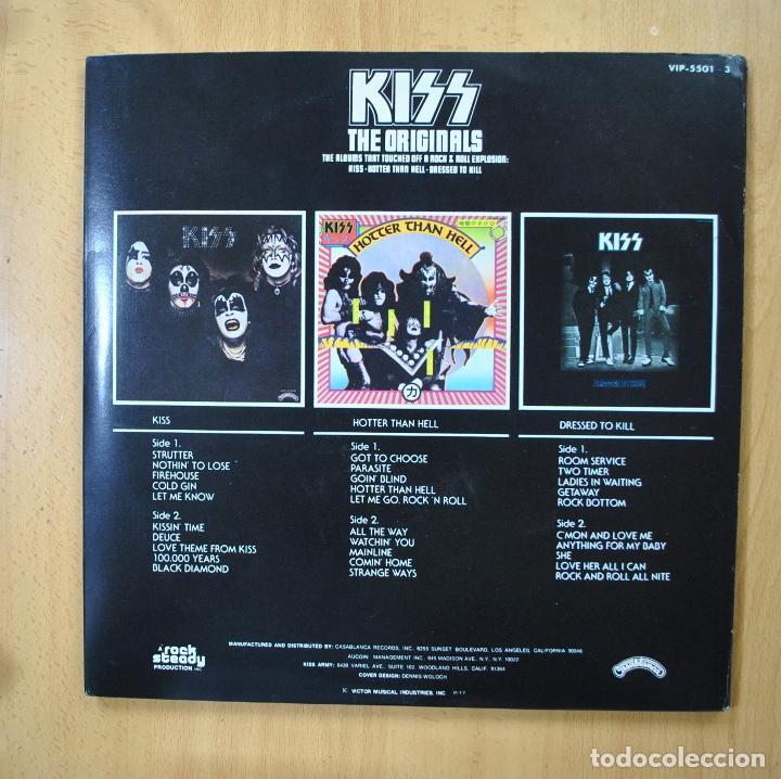 Discos de vinilo: KISS - THE ORIGINALS - 2 LIBRETOS - 3 LP - Foto 2 - 269053043