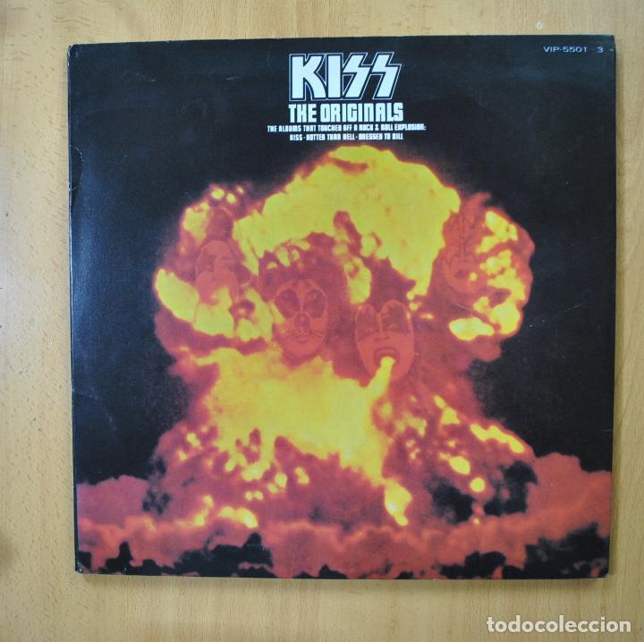 KISS - THE ORIGINALS - 2 LIBRETOS - 3 LP (Música - Discos - LP Vinilo - Heavy - Metal)