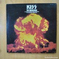 Discos de vinilo: KISS - THE ORIGINALS - 2 LIBRETOS - 3 LP. Lote 269053043