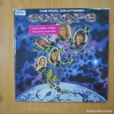 Discos de vinilo: EUROPE - THE FINAL COUNTDOWN - CONTIENE POSTER - LP. Lote 269053188