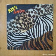 Discos de vinilo: KISS - ANIMALIZE - LP. Lote 269053233