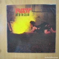 Discos de vinilo: RATT - OUT OF THE CELLAR - LP. Lote 269053253