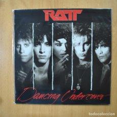 Discos de vinilo: RATT - DANCING UNDERCOVER - LP. Lote 269053258