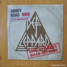 Discos de vinilo: DEF LEPPARD - LIVE AT ABBEY ROAD STUDIOS - MAXI. Lote 269053343