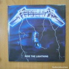 Discos de vinilo: METALLICA - RIDE THE LIGHTNING - SIN OBI - GATEFOLD - 2 LP. Lote 269053513