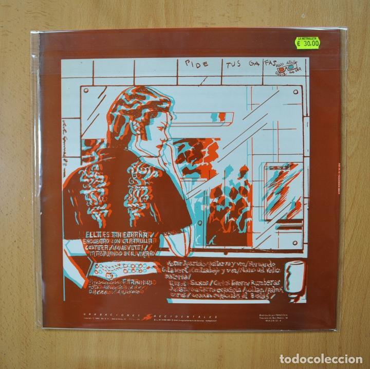 Discos de vinilo: LOS COYOTES - ELLA ES TAN EXTRAÑA - CONTIENE GAFAS - MAXI - Foto 2 - 269053583