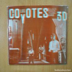 Discos de vinilo: LOS COYOTES - ELLA ES TAN EXTRAÑA - CONTIENE GAFAS - MAXI. Lote 269053583