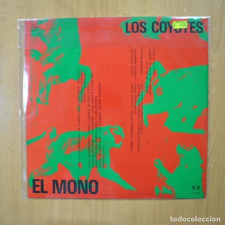 Discos de vinilo: LOS COYOTES - EL MONO - MAXI - Foto 2 - 269053588