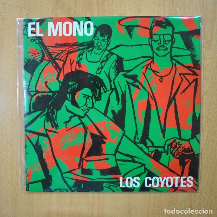 LOS COYOTES - EL MONO - MAXI (Música - Discos de Vinilo - Maxi Singles - Grupos Españoles de los 70 y 80)