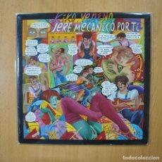 Disques de vinyle: KIKO VENENO - SERE MECANICO POR TI - LP. Lote 269053813