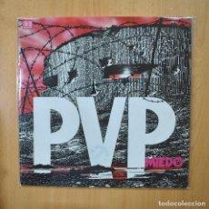 Disques de vinyle: PVP - MIEDO - LP. Lote 269054368