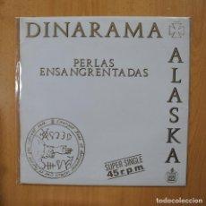 Discos de vinilo: ALASKA Y DINARAMA - PERLAS ENSANGRENTADAS - MAXI. Lote 269054498