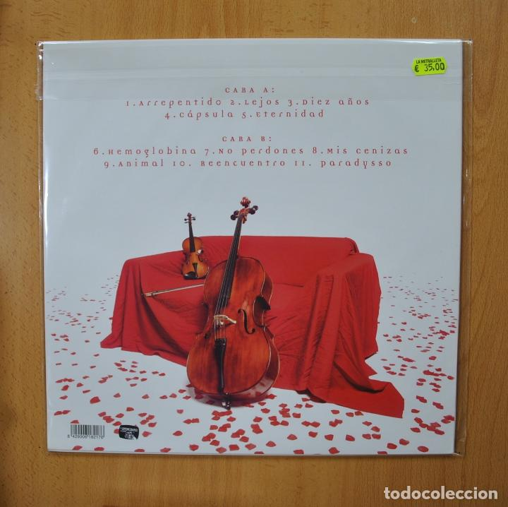 Discos de vinilo: SOBER - LA SINFONIA DEL PARADYSSO - VINILO BLANCO - LP - Foto 2 - 269054673