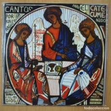 Disques de vinyle: VARIOUS - CANTOS PARA EL CATECUMENADO - GATEFOLD. Lote 269054693