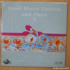 Discos de vinilo: VARIOUS - MUSICA ELECTROACUSTICA ESPAÑOLA 2 - LP. Lote 269054723