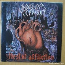 Discos de vinilo: UNBOUNDED TERROR - NEST OF AFFLICTION - LP. Lote 269054758