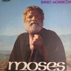 Discos de vinilo: MOISÉS BANDA SONORA DE LA PELÍCULA LP PORTADA DOBLE SELLO RCA VÍCTOR EDITADO EN ESPAÑA AÑO 1976.... Lote 269055008