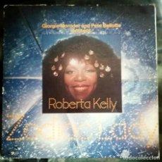 Discos de vinilo: ROBERTA KELLY – ZODIAC LADY LP, SPAIN 1977 PRODUCIDO GIORGIO MORODER, PETE BELLOTTE. Lote 269055793