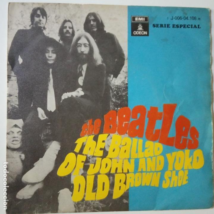 THE BEATLES- THE BALLAD OF JOHN AND YOKO- SPAIN SINGLE 1969. (Música - Discos - Singles Vinilo - Pop - Rock Internacional de los 50 y 60)