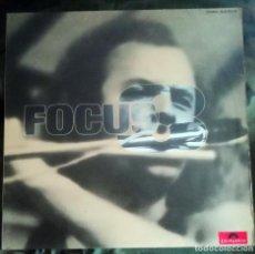 Discos de vinilo: FOCUS – FOCUS III LP, SPAIN 1974 CARPETA DOBLE FALTA DISCO 1. Lote 269058383