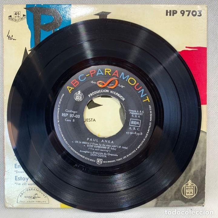 Discos de vinilo: SINGLE PAUL ANKA - AMOR LOCO - ESPAÑA - AÑO 1959 - Foto 2 - 269059038