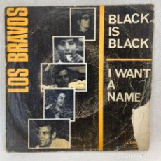 Discos de vinilo: SINGLE LOS BRAVOS - BLACK IS BLACK - ESPAÑA - AÑO 1966. Lote 269059353