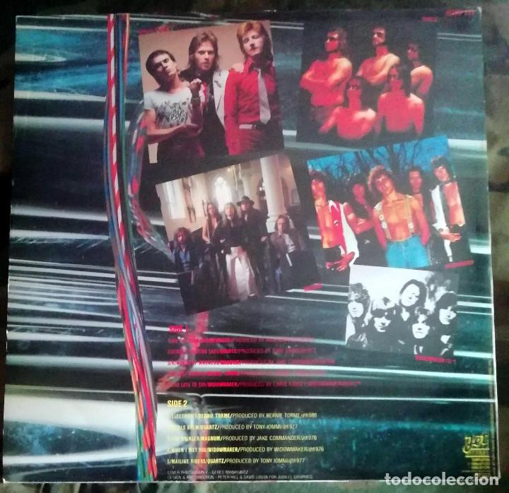 Discos de vinilo: Metallergy LP, Compilation UK 1980 Widowmaker,Quartz prod Tony Iommi ,Magnum,Bernie Torme - Foto 2 - 269059523