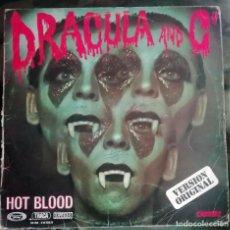 Discos de vinilo: HOT BLOOD – DRACULA AND CO LP, SPAIN 1977. Lote 269060613
