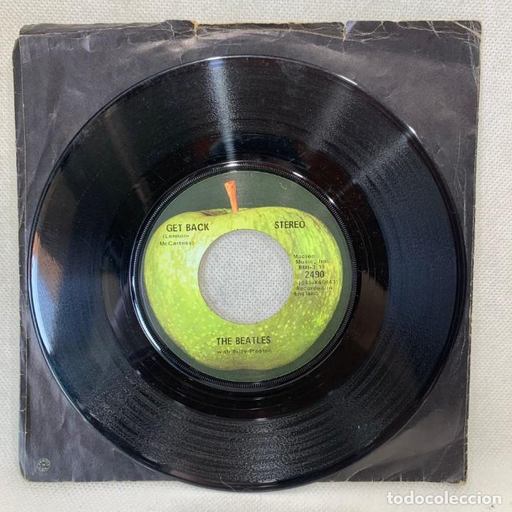SINGLE THE BEATLES - GET BACK - UK - AÑO 1969 (Música - Discos - Singles Vinilo - Pop - Rock Internacional de los 50 y 60)