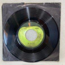 Discos de vinilo: SINGLE THE BEATLES - GET BACK - UK - AÑO 1969. Lote 269060983