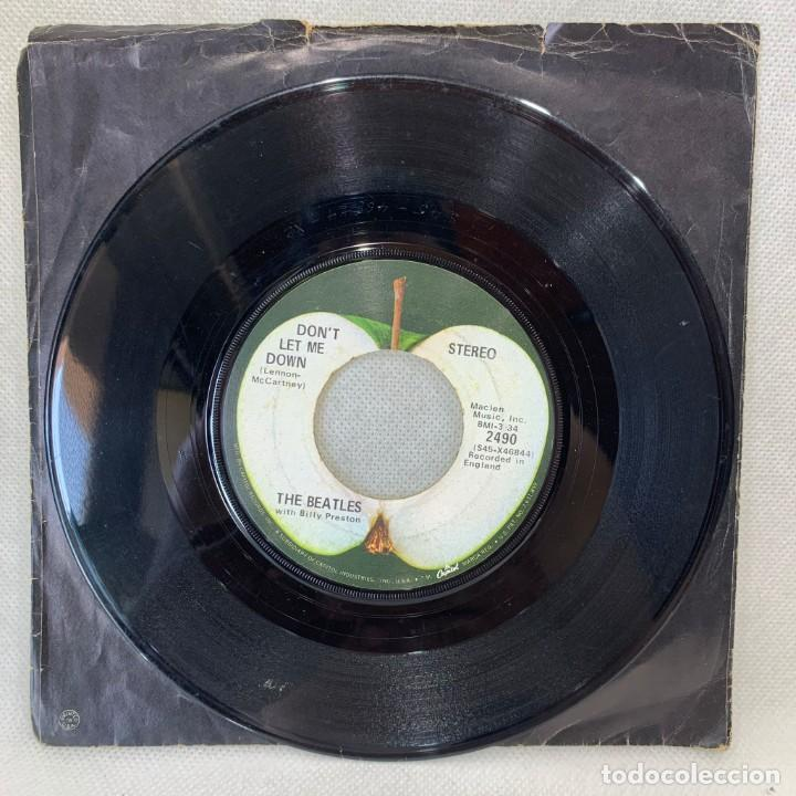 Discos de vinilo: SINGLE THE BEATLES - GET BACK - UK - AÑO 1969 - Foto 2 - 269060983