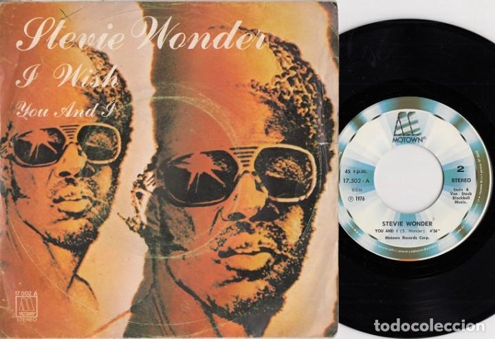 EVIE WONDER - I WISH - SINGLE DE VINILO EDICION ESPAÑOLA (Música - Discos - Singles Vinilo - Funk, Soul y Black Music)
