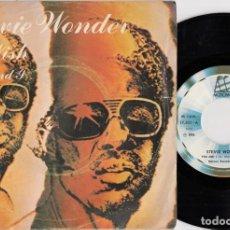 Discos de vinilo: EVIE WONDER - I WISH - SINGLE DE VINILO EDICION ESPAÑOLA. Lote 269061643