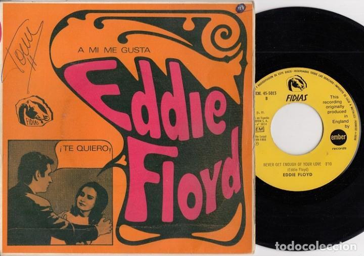 EDDIE FLOYD - BYE BYE BABY - SINGLE DE VINILO EDICION ESPAÑOLA (Música - Discos - Singles Vinilo - Funk, Soul y Black Music)