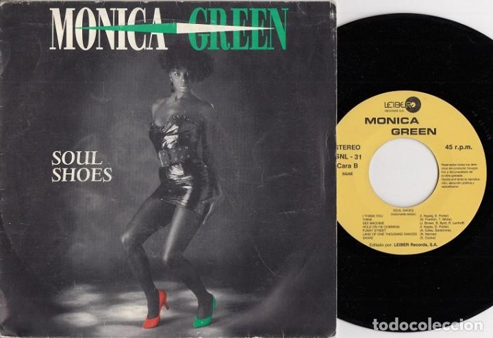 MONICA GREEN - SOUL SHOES - SINGLE DE VINILO EDICION ESPAÑOLA (Música - Discos - Singles Vinilo - Funk, Soul y Black Music)