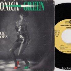 Discos de vinilo: MONICA GREEN - SOUL SHOES - SINGLE DE VINILO EDICION ESPAÑOLA. Lote 269069438