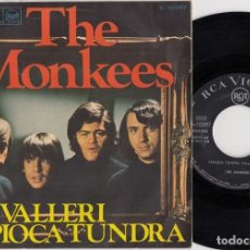 Discos de vinilo: THE MONKEES - VALLERI - SINGLE DE VINILO EDICION ESPAÑOLA. Lote 269070598