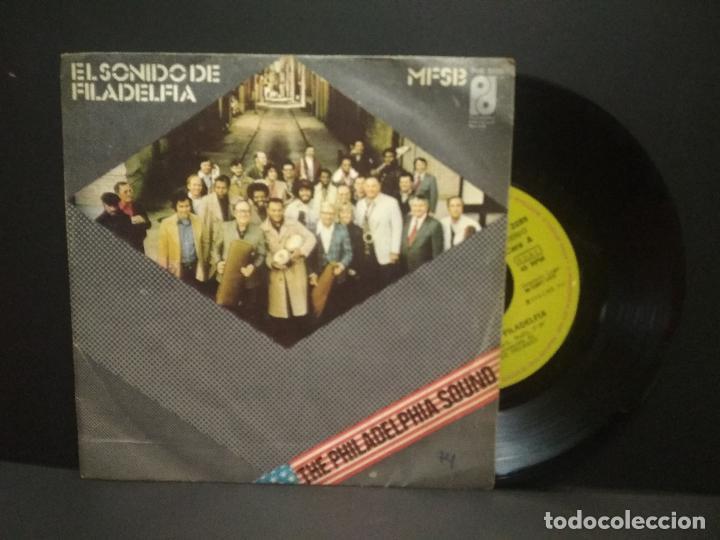 MFSB - EL SONIDO DE FILADELFIA / SINGLE ALGO POR NADA. EDITADO POR CBS. AÑO 1.974 PEPETO (Música - Discos - Singles Vinilo - Funk, Soul y Black Music)