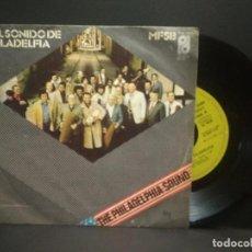 Discos de vinilo: MFSB - EL SONIDO DE FILADELFIA / SINGLE ALGO POR NADA. EDITADO POR CBS. AÑO 1.974 PEPETO. Lote 269070953