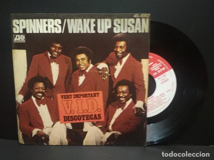 SPINNERS WAKE UP SUSAN SINGLE SPAIN 1977 PEPETO (Música - Discos - Singles Vinilo - Funk, Soul y Black Music)