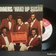 Discos de vinilo: SPINNERS WAKE UP SUSAN SINGLE SPAIN 1977 PEPETO. Lote 269073463