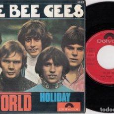 Discos de vinilo: THE BEE GESS - WORLD - SINGLE DE VINILO EDICION ESPAÑOLA. Lote 269078673