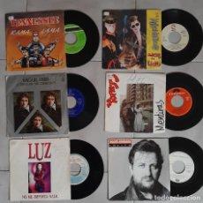 Discos de vinilo: LOTE 6 DISCO DE VINILO SINGLE POP ROCK LUZ MILLONARIOSLOS REFRESCOS MIGUEL RIOS TENNESSEE ESPAÑOL. Lote 269079653