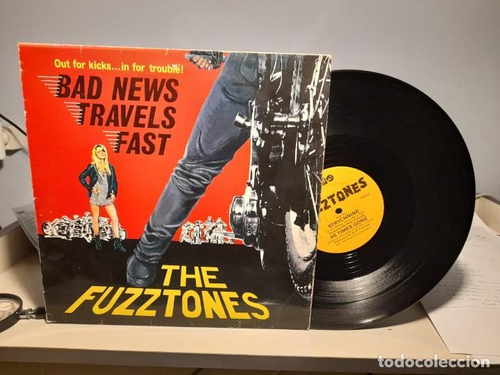 MAXI THE FUZZTONES : BAD NEWS TRAVELS FAST + 3 (Música - Discos de Vinilo - Maxi Singles - Pop - Rock - New Wave Internacional de los 80)