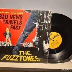 Discos de vinilo: MAXI THE FUZZTONES : BAD NEWS TRAVELS FAST + 3. Lote 269080648