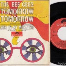 Discos de vinilo: THE BEE GESS - TOMORROW TOMORROW - SINGLE DE VINILO EDICION ESPAÑOLA. Lote 269080753