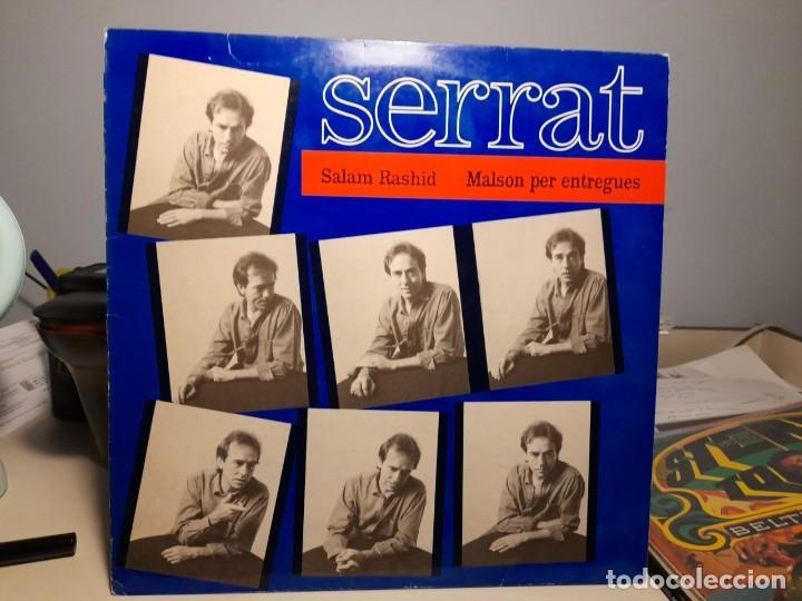 MAXI SERRAT : SALAM RASHID * MALSON PER ENTREGUES ( CONTIENE COMIC ) (Música - Discos de Vinilo - Maxi Singles - Solistas Españoles de los 70 a la actualidad)