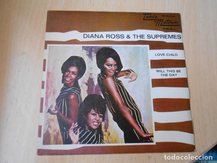DIANA ROSS & THE SUPREMES, SG, LOVE CHILD + 1, AÑO 1968 (Música - Discos - Singles Vinilo - Pop - Rock Internacional de los 50 y 60)